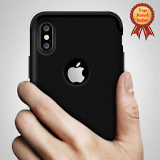 Hybrid Anti-knock Slim Matte Light TPU Rubber For iPhone X 8 7 Armor Case Covers