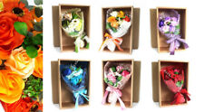Scented Soap Flower Bouquet with box - Valentine / Mothers's / Birthday Gift.