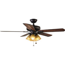 Hampton Bay Lyndhurst Oil Rubbed Bronze 52 in. Ceiling Fan PARTS 795904