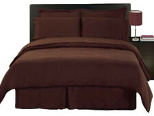 1000 TC Egyptian Cotton Double,Queen or King Size Bed Sheet Set (SOLID).4 Pieces