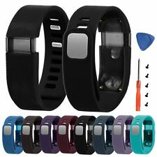 Silicone Watch Band Strap Wristband Bracelet + Tools for Fitbit Charge Tracker