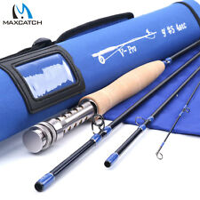 Maxcatch Pro Fly Rod 4/5/6/8wt 9ft Fast Action IM10 Carbon Fly Fishing Rod