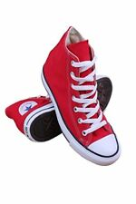 Converse Chuck Taylor All Star Core Canvas High Top Sneaker, Red
