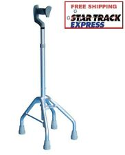 Quad Cane - Walking Mobility Aids For Elderly, Large/Small Base,Max Weight 113Kg