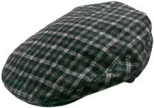 Men's Wool Blend Soft Lined Irish Ivy Flat fitted Hat Cap