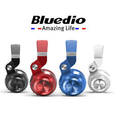 Bluedio T2+ Stero earphones Wireless Bluetooth Fordable Headsets FM/SD Card Mic