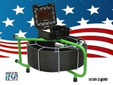 200 FT MAINLINE SEWER VIDEO PIPE DRAIN CLEANER INSPECTION CAMERA 512hz SONDE