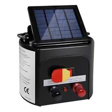 NEW 5km Solar Power Electric Fence Energiser Charger