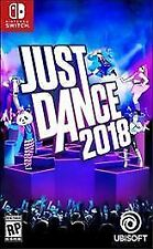 Just Dance 2018 Nintendo Switch Brand New Factory Sealed Game