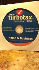 Intuit Turbo Tax, Home & Business 2017