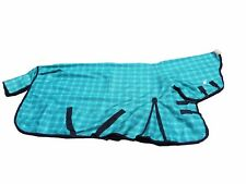 A 1200D No Fill Waterproof Breathable Horse Rug Combo 6'6
