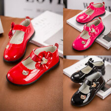 Fashion Infant Baby Flats Princess Shoes Kids Girl Dress Shoes Party Wedding Hot