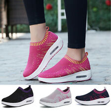 Women New Sneakers Size Slip-on Shoes Casual Soft Comfy Athletic Running Ladies