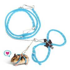 Adjustable Pet Harness Small Animal Rat Hamster Rabbit Lead Leashes Elastic Belt