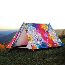 3 4 People Outdoor Camping Tent New Style Hiking Tents 3d Printing Pattern Tents