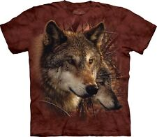 Forest Wolves Wolf T Shirt Adult Unisex The Mountain