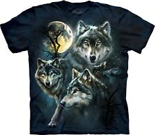 Moon Wolves Wolf T Shirt Child Unisex The Mountain
