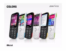 BLU Jenny TV 2.8  Unlocked GSM Dual-SIM Cell Phone w/ 1.3MP Camera - Unlocked