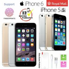 Apple iPhone 5s 6 16GB 32GB 64GB Factory Unlocked Mobile Smartphone Excellent UK