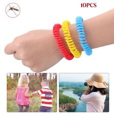 Silicone Anti-Mosquito Pest Insect Bugs Repellent Repeller Wrist Band Bracelet