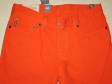 Abercrombie & Fitch Orange Skinny Jeans for Men SZ 30x32 - NWT $78