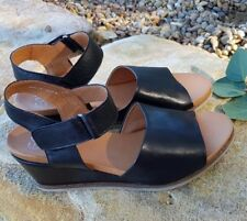 New Arrival!EOS EMILY BLACK leather sandal!RRP180! Made in Portugal! SALE