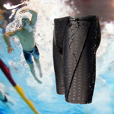 Men's Boys Swimming Swim Trunks Boxer Shorts Jammer Sharkskin Racing Pants