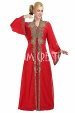 EXCLUSIVE ARRIVAL Long Floor Touch MOROCCAN KAFTAN DESIGN FOR WOMEN DRESS 5873