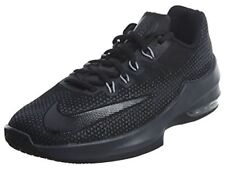 NIKE Kids Air Max Infuriate (GS) Basketball Shoe, Black/Black-anthracite