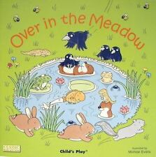 Over in the Meadow (Die Cut Reading)-ExLibrary