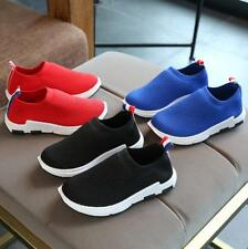 Fashion Kids Boys Girls Breathable Mesh Sports Athletic Sneakers Running Shoes