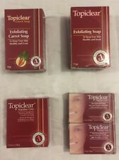 TOPICLEAR Skin Exfoliating Soap Jabon Exfoliante * Choose Type * Free Shipping