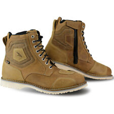 FALCO RANGER CAMEL LIGHT BROWN WATERPROOF MOTORCYCLE MOTORBIKE BIKE BOOTS