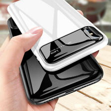 Luxury Slim Glossy Mirror Matte Hard Armor Phone Case Cover For iPhone Samsung