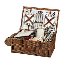 Picnic at Ascot Unisex  Dorset Basket for Four with Blanket