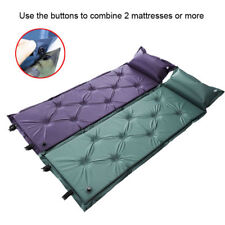 Self Inflating Mattress Sleeping Mat Camping Hiking Tent Beach Airbed Joinable
