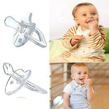 Safe BPA Silicone Nipple Soother Pacifier Baby Infant Orthodontic Dummy Teether