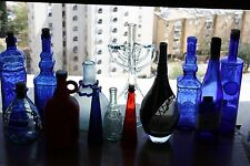 Collectible Bottle Decanter Wine Vodka Beer Whiskey Scotch Soda Milk Liqueur and