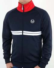 Sergio Tacchini Dallas Track Top - Navy, Red & White - BNWT