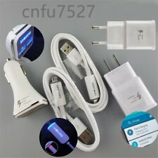 OEM LED Fast Car Charger Wall Adaptive For Samsung Galaxy S6 S7 Edge + Note 5 4