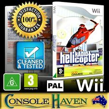 (Wii Game) Radio Helicopter / MiniCopter: Adventure Flight (G) (Simulation) PAL