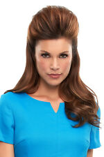 """TOP THIS by JON RENAU 8"""", 12"""" or 16"""" REMY HUMAN HAIR Topper /Hairpiece ANY COLOR"""