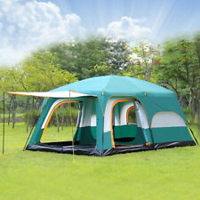 Big Camping Tent 8-10 Person Family Outdoor Cabin Dome Canopy Waterproof Tents