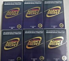 Adam Secret Male Enhancement Pills Men Sexual Performance Enhancer 1500 10 Pills
