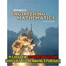 Advanced Engineering Mathematics by Dennis G. Zill (2016, Hardcover)