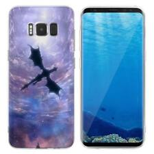 Case Cover For Samsung Galaxy S6 S7 Edge S8 S9 Plus Animals Reptiles Dinosaurs