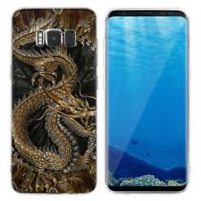 Case Cover For Samsung Galaxy S6 S7 Edge S8 S9 Plus Animals Dinosaurs Reptiles
