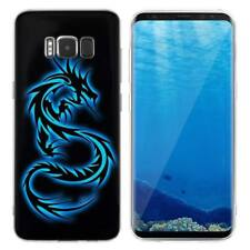 Case Cover For Samsung Galaxy S6 S7 Edge S8 S9 Plus Reptiles Dinosaurs Dragons