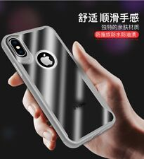 Luxury Shockproof Hybrid Soft Bumper Clear Back Case Cover For iPhone X 8 7 6S 5