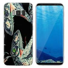 Case Cover For Samsung Galaxy S6 S7 Edge S8 S9 Plus Raptors Dinosaurs Animals